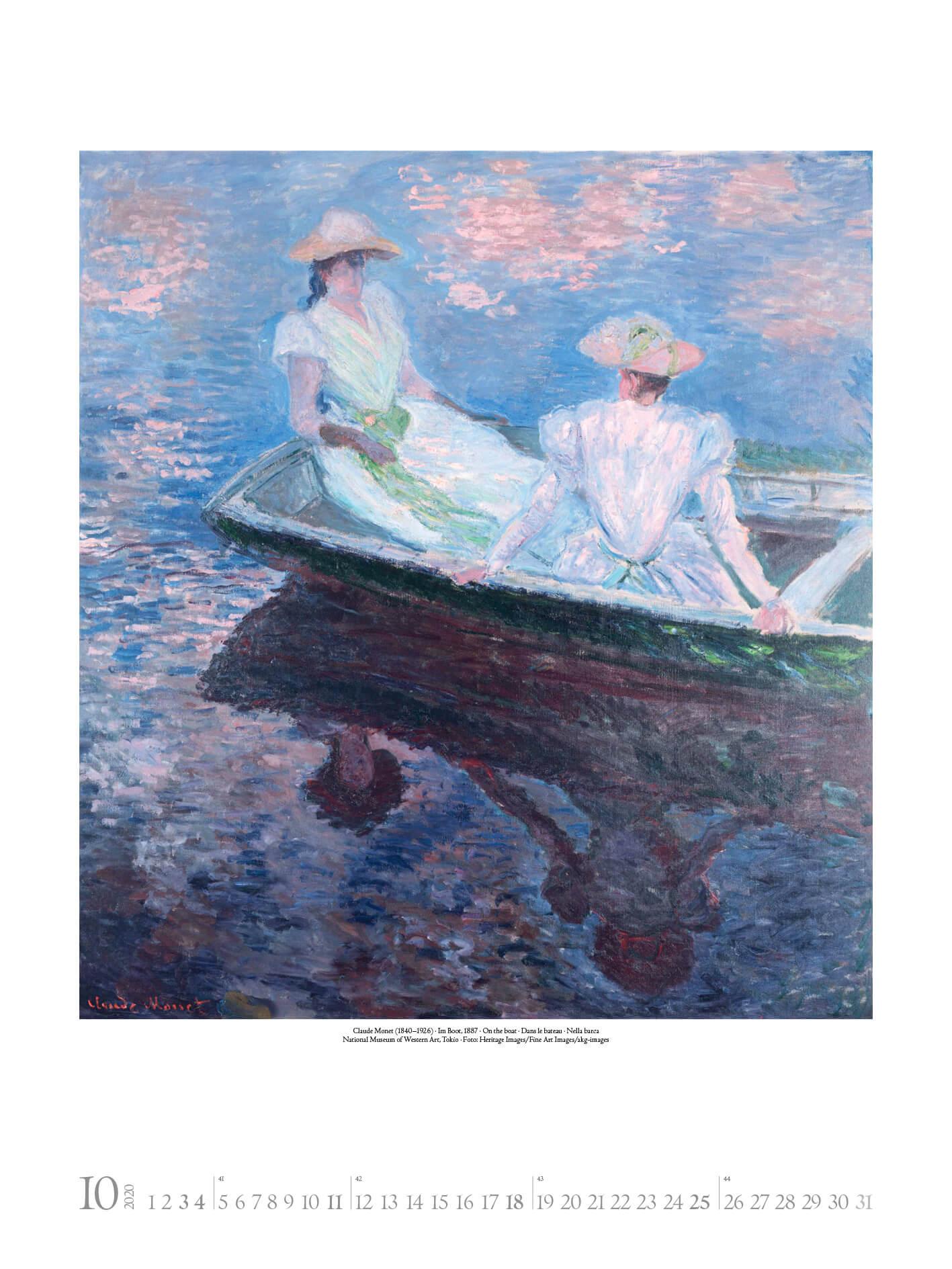 Claude Monet 2020 48×64.indd
