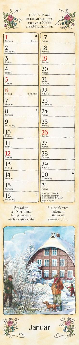 Bauernkalender 2014 11x48_Bauernkalender 2014 11×48