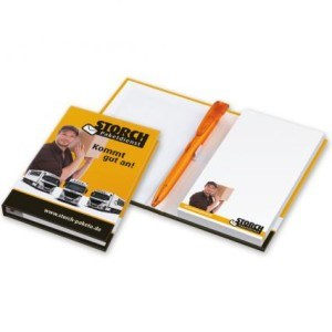 Memoblock-Bookcover-Stift
