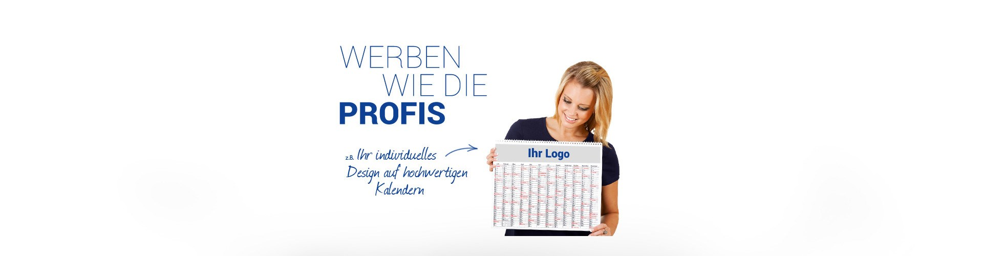 Professionelle Werbekalender mit Logo
